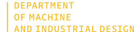 Department of Production Machines and Design