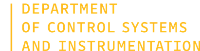 Department of Control Systems and Instrumentation