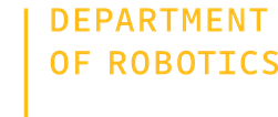 Department of Robotics